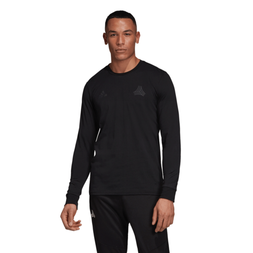 adidas Tango Logo Tee Long Sleeve - Black