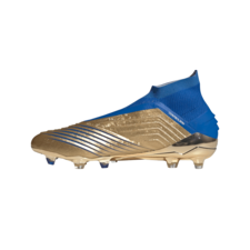 adidas Predator 19+ Firm Ground Boots - Gold/Blue/White