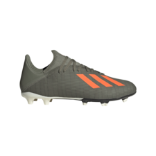 adidas X 19.3 Firm Ground Boot - Green/Orange/White