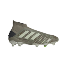 adidas Predator 19+ Firm Ground Boots - Green/Sand/Yellow
