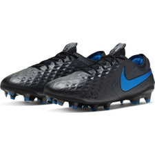 Nike Tiempo Legend 8 Elite Firm Ground Boots - Black/Blue