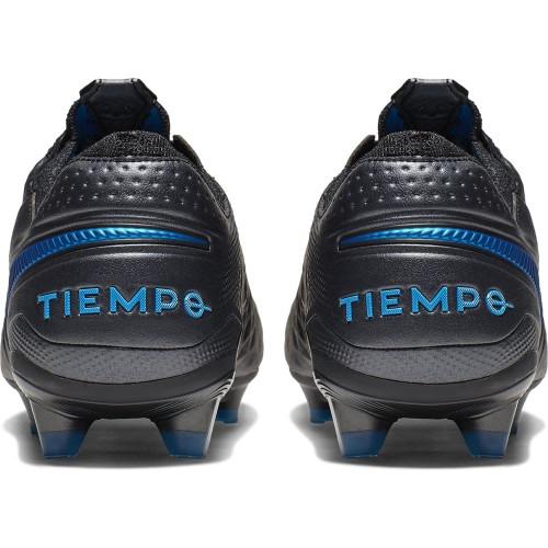 Nike Tiempo Legend 8 Elite Firm Ground Boots - Black/Blue
