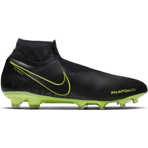 Nike Phantom Vision Elite Dynamic Fit Firm Ground Boots - Black