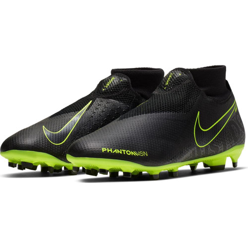 Nike Phantom Vision Pro Dynamic Fit Firm Ground Boots - Black
