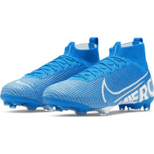 Nike Jr. Superfly 7 Elite Firm Ground Boots - Blue/White