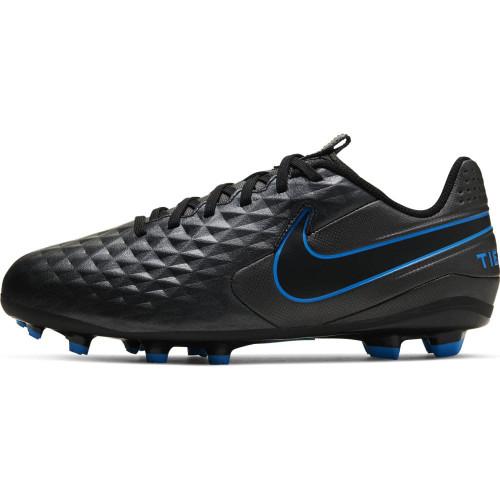 Nike Jr. Legend 8 Academy Firm Ground Boots - Black/Blue