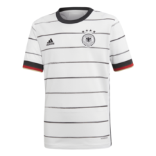 adidas 20/21 Germany Home Jersey Youth - White