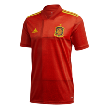 adidas 2020 Spain Home Jersey - Red