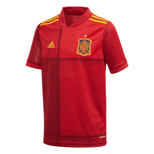 adidas 20/21 Spain Home Jersey Youth - Red
