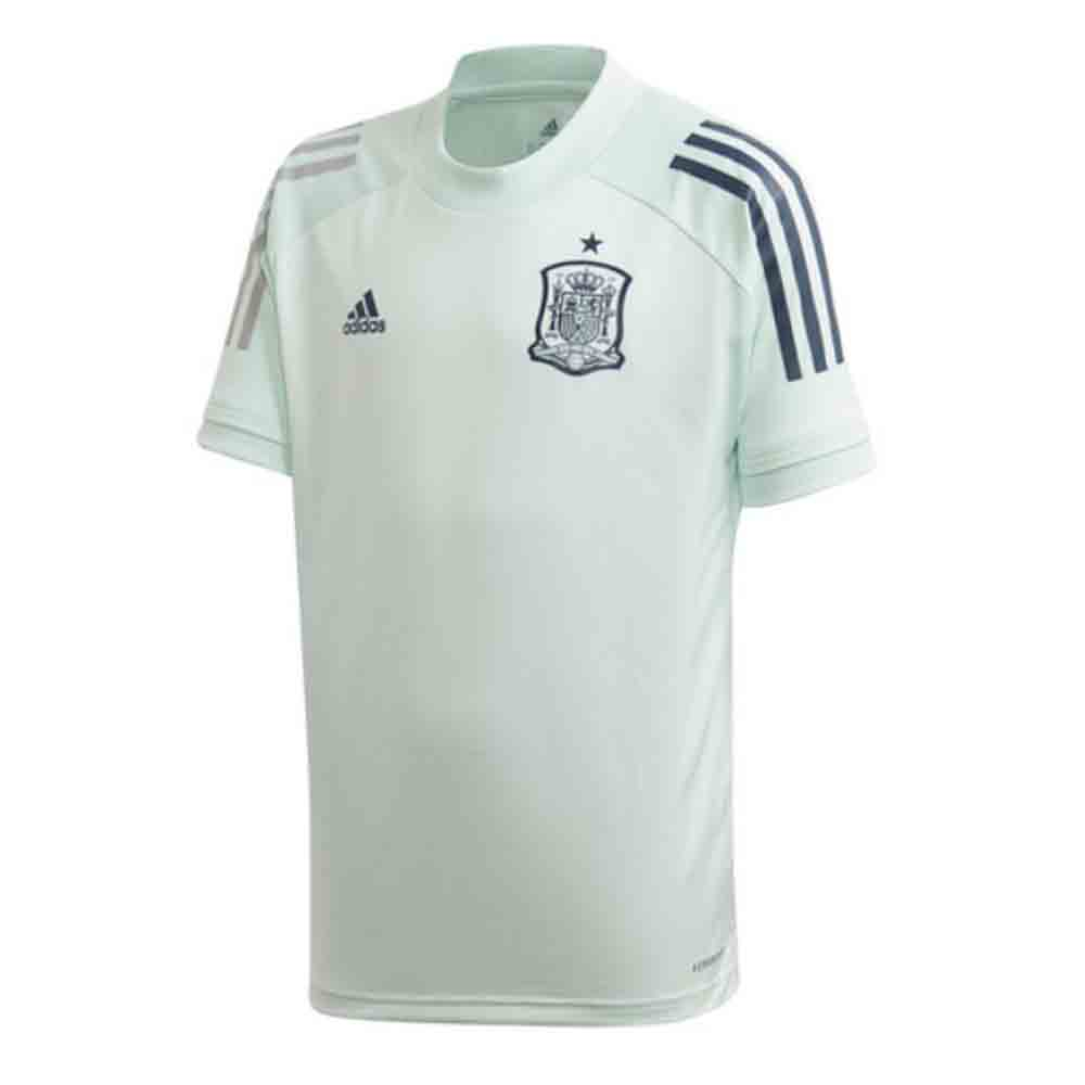 adidas Spain Training Jersey - White | SOCCERX