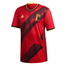 adidas 2020 Belgium Home Jersey - Red