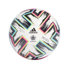 adidas UNIFO Mini Ball - White/Black/Green/Cyan