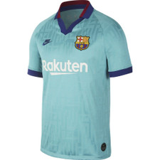 Nike FC Barcelona 2019/20 Stadium Third Jersey - Blue