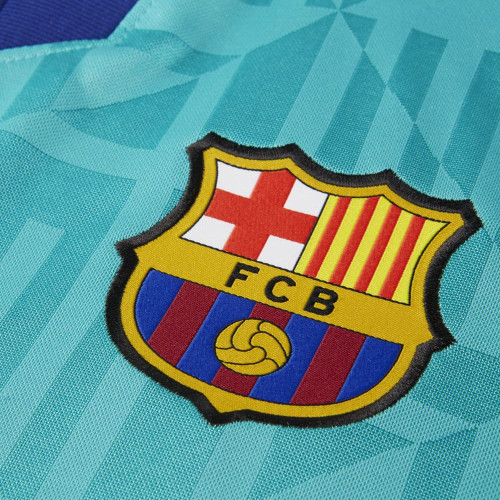 Nike FC Barcelona 2019/20 Stadium Third Jersey - Blue