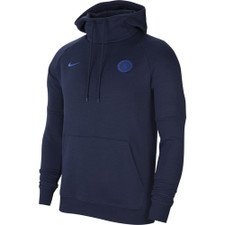 Nike Chelsea FC Fleece Pullover Hoodie - Obsidian/Blue