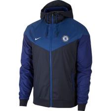 Nike Chelsea FC Windrunner - Obsidian/Blue