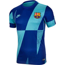 Nike Barcelona Pre-Match Top – Cabana/Deep Royal Blue