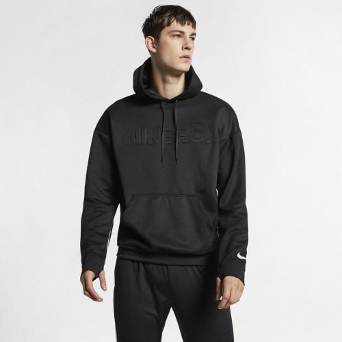Nike F.C. Soccer Hoodie - Black/White