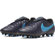Nike Premier II Firm Ground Boots - Obsidian/Blue