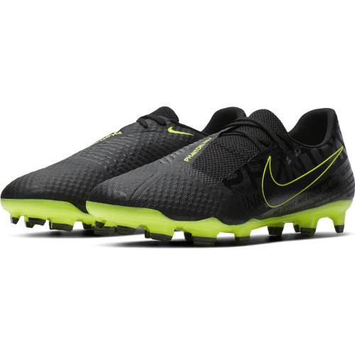 Nike Phantom Venom Academy Firm Ground Boots - Black/Volt