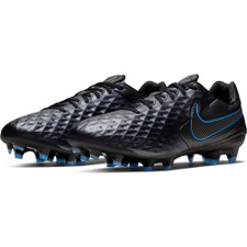Nike Legend 8 Pro Firm Ground Boots - Black/Blue