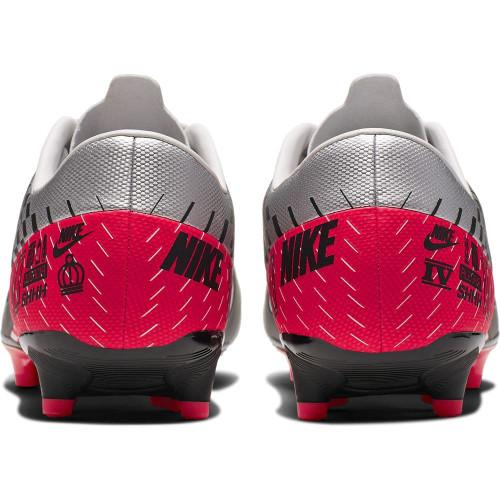 Nike Vapor 13 Academy Neymar Jr. Firm Ground Boots - Chrome/Black/Red