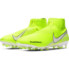 Nike Phantom Vision Elite Dynamic Fit Firm Ground Boots - Volt/White