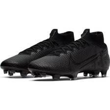 Nike Mercurial Superfly 7 Elite Firm Ground Boots - Black/Grey