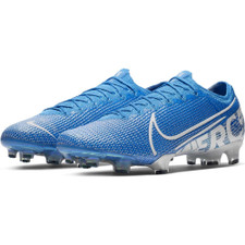 Nike Mercurial Vapor 13 Elite Firm Ground Boots - Blue/White