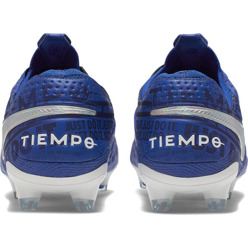 Nike Tiempo Legend 8 Elite Firm Ground Boots - Royal/White