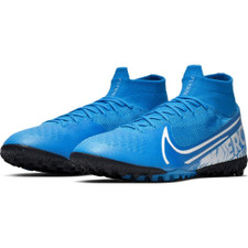 Nike Superfly 7 Elite Artificial Turf Boots - Blue/White/Volt