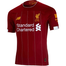 New Balance 19/20 LFC Home JR SS Jersey