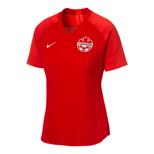 Nike Canada Women's Strike Jersey Short Sleeve - Red