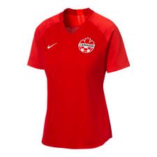 Nike Canada Women's Strike Jersey Short Sleeve - Red