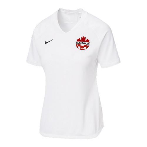 Nike Canada Women's Strike Jersey Short Sleeve - White