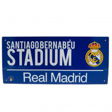 Real Madrid - Colour Street Sign