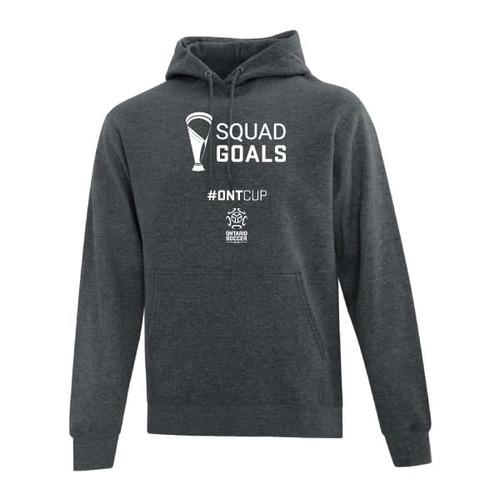Ontario Cup Hoodie - Goal - Grey