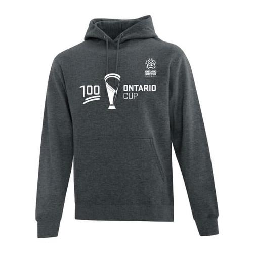 Ontario Cup Hoodie - 100 - Grey