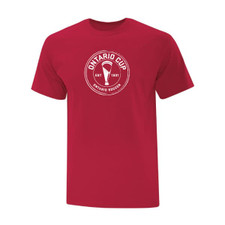 Ontario Cup T-Shirt - Circle - Red