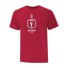 Ontario Cup T-SHIRT - Trophy - Red