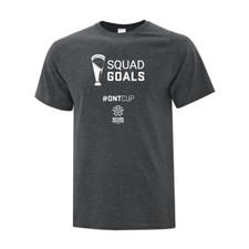 Ontario Cup T-SHIRT - Goal - Grey