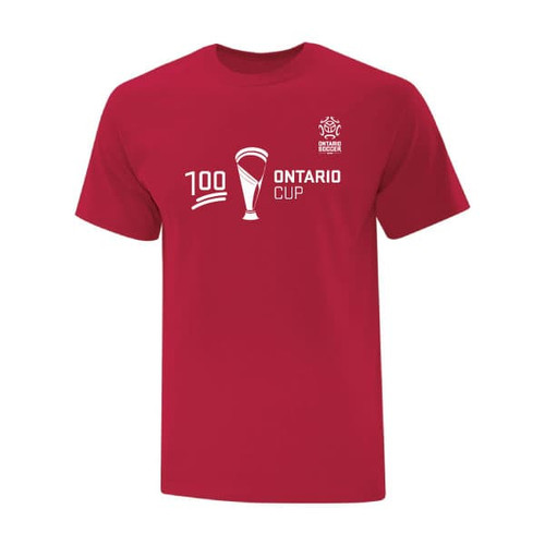 Ontario Cup T-SHIRT - 100 - Red