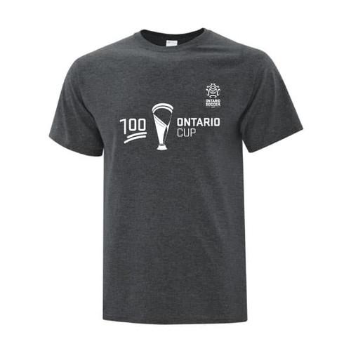 Ontario Cup T-SHIRT - 100 - Grey