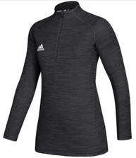 adidas Women's Game Mode Performance 1/4 Zip - Black