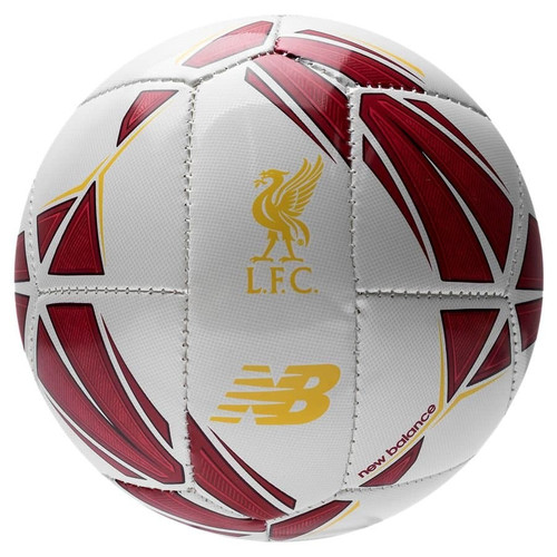 New Balance Liverpool Dispatch Mini Soccer Ball - Red/White/Yellow