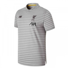 2019/20 Liverpool Travel Polo - Grey