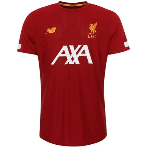 New Balance 19/20 Liverpool FC Pre-Game Jersey - Red
