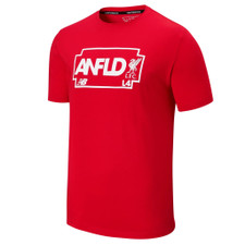 New Balance Liverpool FC Road Tee - Red | SOCCERX