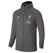 New Balance Liverpool FC Full Zip Hoodie - Grey