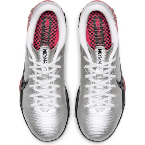 Nike Jr Vapor 13 Academy Neymar Jr. Artificial Turf Boots - Chrome/Black